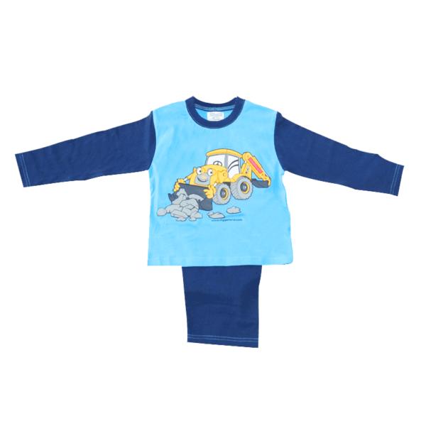 Digger Pyjamas Blue