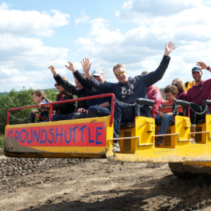 Unique stag do ideas at Diggerland