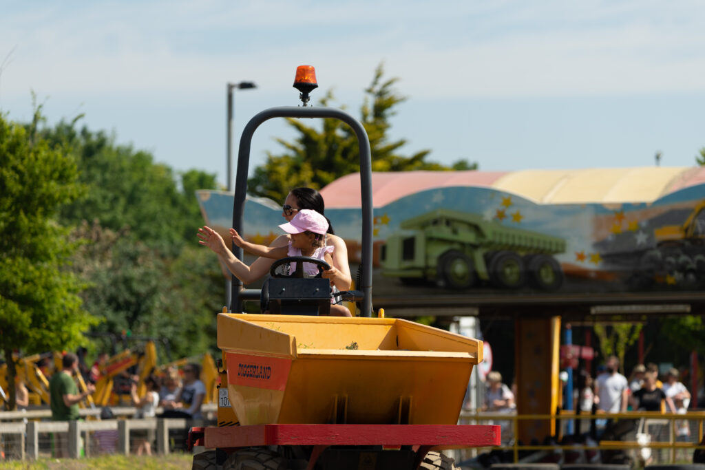 Days out in Yorkshire: Diggerland