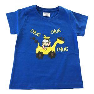 Boys Chug T-Shirt - Royal Blue