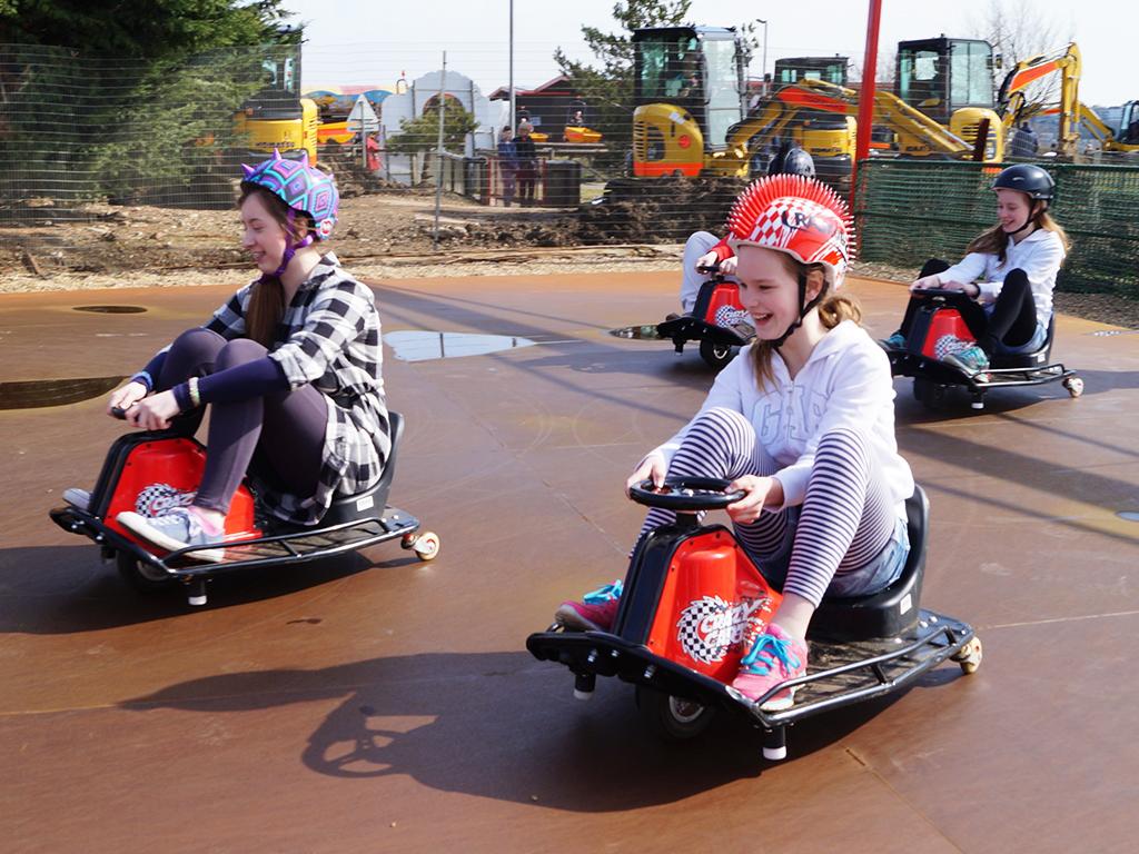 ||||||Crazy Carts at Diggerland UK Theme Park||Crazy Carts at Diggerland||Crazy Carts - Diggerland UK Attraction