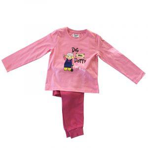 Girls Dotty Pyjamas - Pink