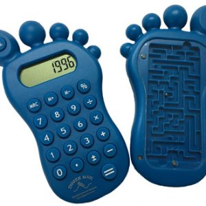 Foot Calculator / Maze Toy