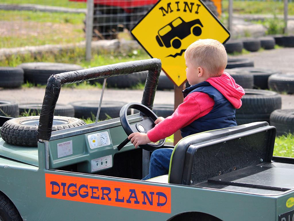 Diggerland electric cars||mini-landrover||||||||