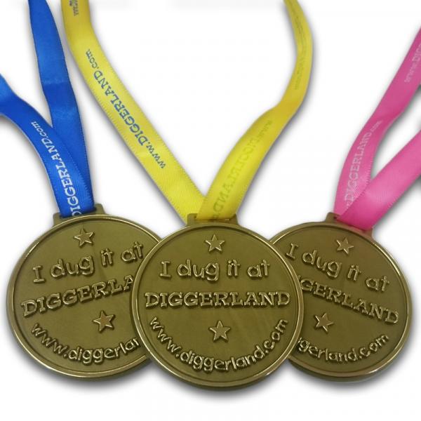 Diggerland Medallion