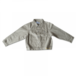 Denim Jacket in Beige - Adults