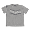 Grey T Shirt with Tyretrack Logo