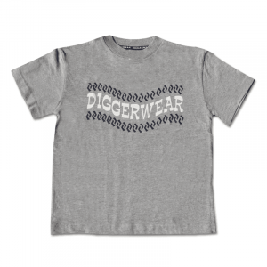 Grey T Shirt with Tyretrack Logo