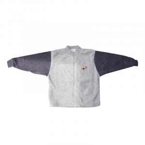 Fleece Jacket (Grey/Navy)