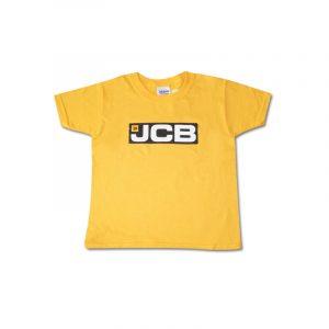 JCB Logo T Shirt (Child) Yellow
