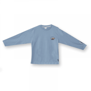 Long Sleeve T Shirt Pale Blue