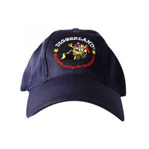 Childs Navy Diggerland Cap