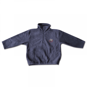 1/4 Zip Navy Fleece