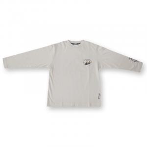 Long Sleeve T Shirt Cream