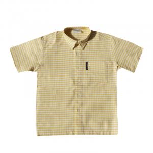 Gingham Shirt - Yellow