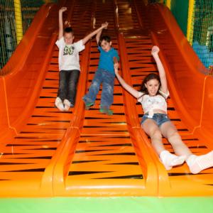 Diggerland Theme Park in Durham