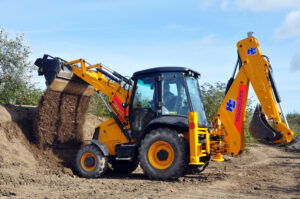 Family days out - JCB 3CX
