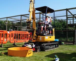 Diggerland at Big Cat Sanctuary