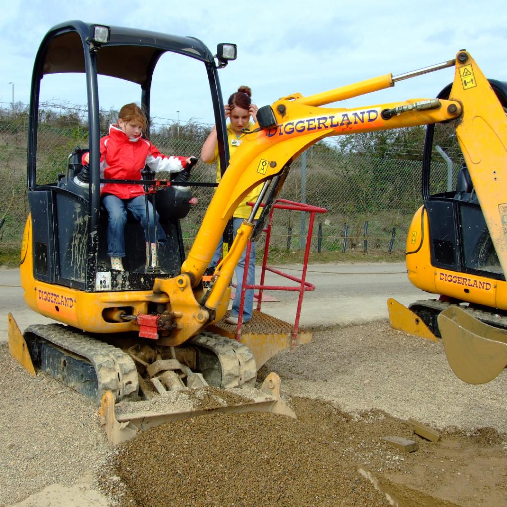 Buried Treasure at Diggerland