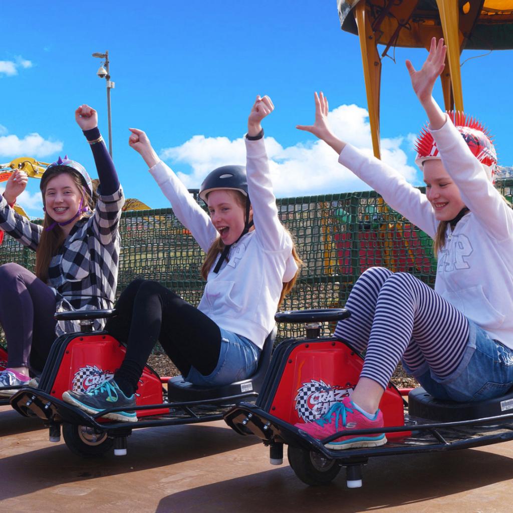 Crazy Carts at Diggerland Theme Park in Kent