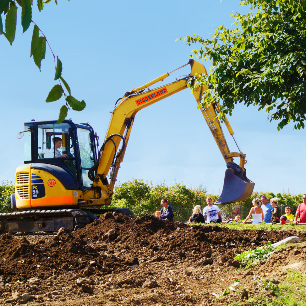 Family Days Out at Diggerland Theme Park