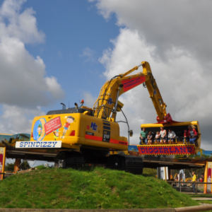Stag parties in Yorkshire at Diggerland