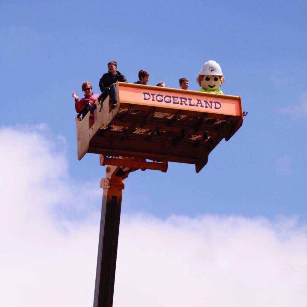 Skyshuttle at Diggerland