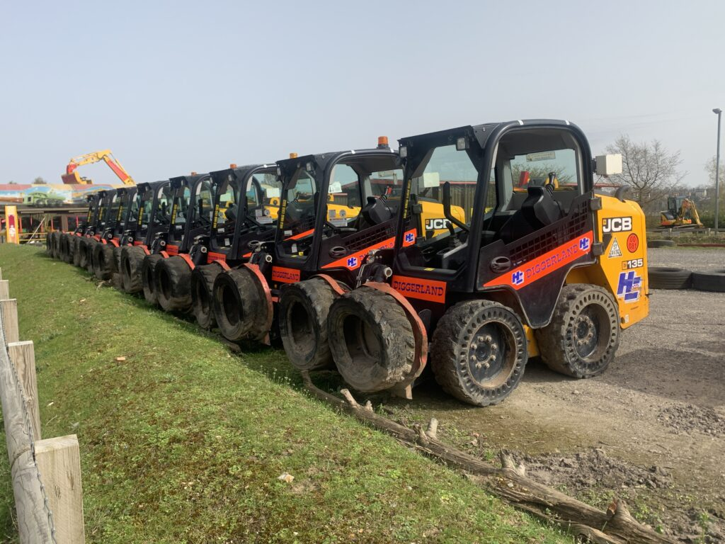 Diggerland Rides and drives - Skid Steers