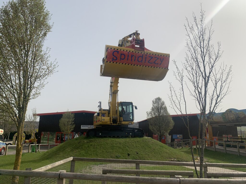 UK attraction - Spindizzy